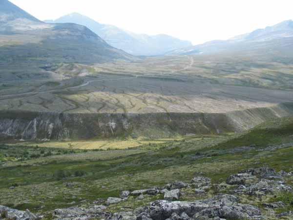 """""""宽幅""""照片""""秀""""挪威龙达讷地质公园"""