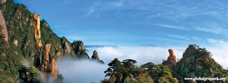 自三清山于2005年正式启动世界地质公园申报工作以来,上饶市委