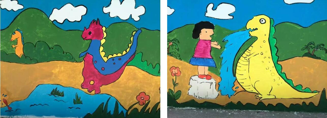 5月1日至10日,自贡世界地质公园邀请自贡江姐小学和四川理工学院艺术学院师生们在公园土柱村社区内开展童心绘恐龙,共建化石村活动。   土柱村是自贡世界地质公园古生物化石保护与社区共建的一个重要试点社区。2012年以来,公园已在土柱村内授牌多家合作农家乐。2016年3月11日,土柱村由中国国家古生物化石专家委员会办公室正式授牌,成立了自贡国家级重点保护古生物化石集中产地土柱村化石保护站。   本次童心绘恐龙活动,属于地质公园社区共建计划之一,以地质公园为纽带联系学校、社区及农家乐,旨在增加公众在社